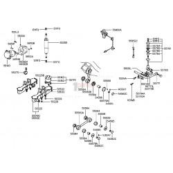 Kit de bujes barra estabilizadora - 2PACK
