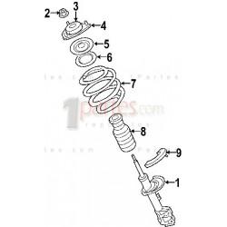 Aislador superior del espiral