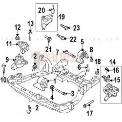 Base del motor - lateral