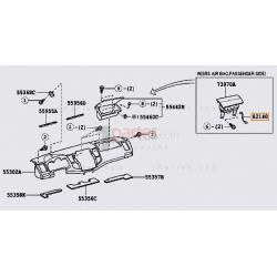 Airbag derecho (copiloto) - Cableado (RAMAL)