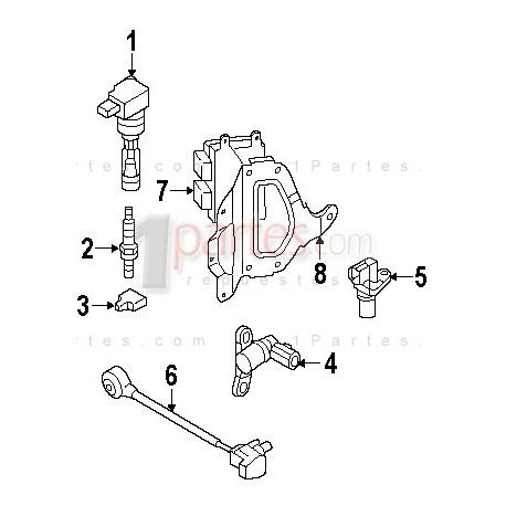 Computador del motor ECM / ECU|Mazda|CX-7||Grupo: Eléctricos